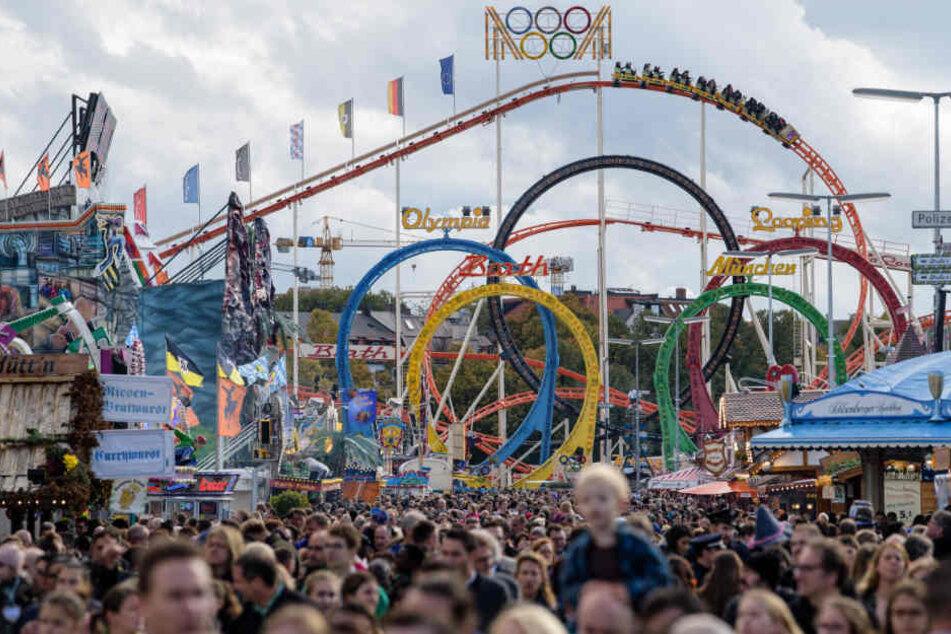 6,2 Millionen Gäste besuchten das Münchner Oktoberfest 2017.
