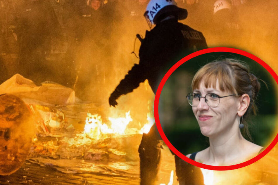 """""""Advent, Advent, ein Bulle brennt"""": Sachsens Justizministerin spielte in umstrittener Punkband"""