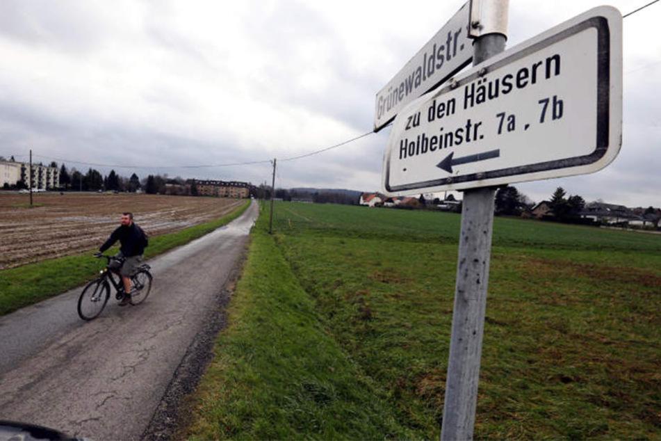 Seit zwei Jahrzehnten will man schon an der Grünewaldstraße in Bielefeld Wohnungen schaffen.