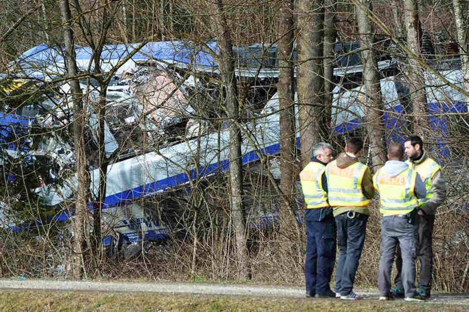 """Die Deutsche Bahn bot Journalisten am Montag in einer Sitzungspause ein """"Briefing"""" an, um die Bahntechnik aus ihrer Sicht darzustellen"""