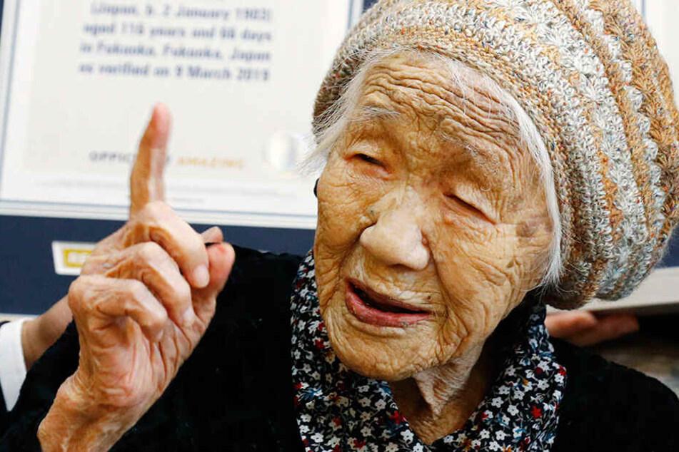 Wow! So alt ist der älteste Mensch der Welt