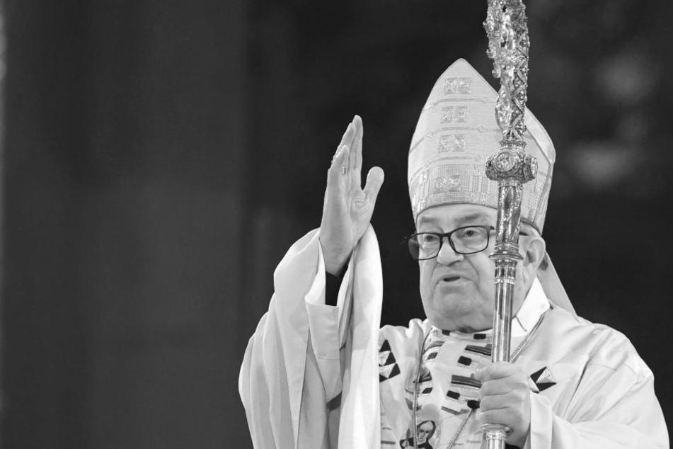 Lehmann war der ehemalige Bischof des Bistums Mainz.