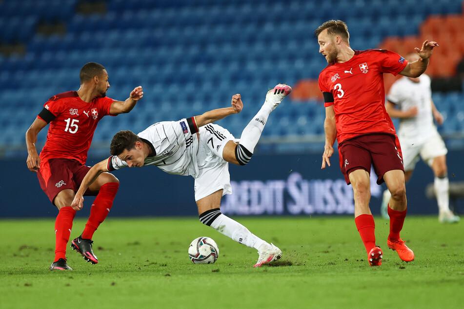 Auch in der deutschen Nationalmannschaft hat er derzeit keinen allzu leichten Stand.