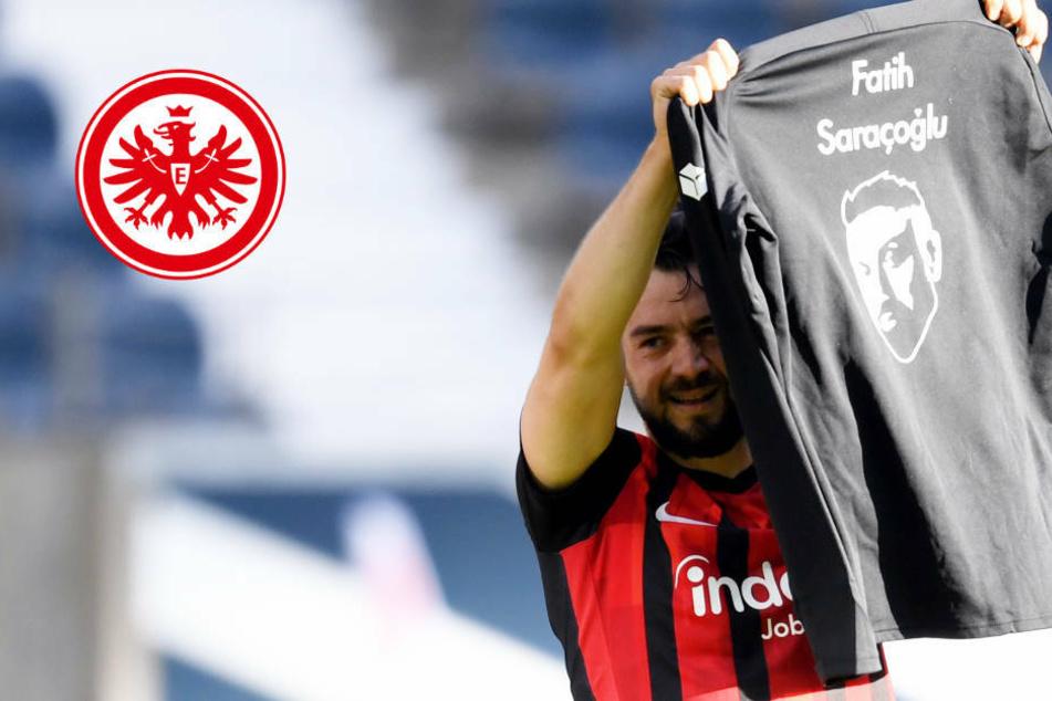 Eintracht unterstützt Hanau-Gedenken: Amion Younes mit toller Geste