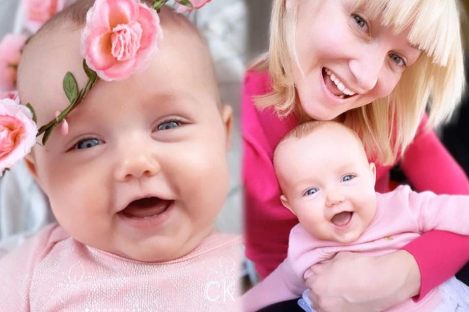 Aljona Savchenkos Tochter Amilia ist jetzt Mini-Influencerin