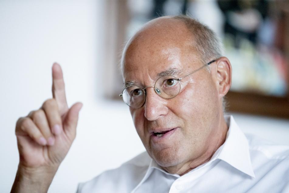 Linken-Politiker Gregor Gysi (72) soll zwischen Haribo und den 150 Mitarbeitern in Wilkau-Haßlau vermitteln.