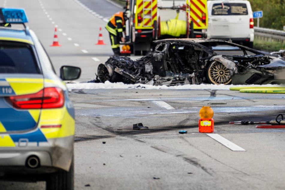 Unfall A66: Lamborghini liefert sich Rennen auf A66: Musste deshalb ein Unschuldiger sterben?