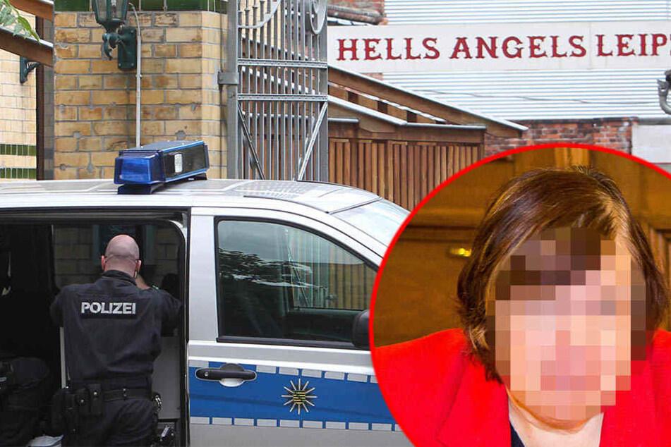 Die psychiatrische Gutachterin Ruth C. (r.) ist raus. Das Landgericht Leipzig gab einem Antrag der Verteidigung auf Ablehnung der Sachverständigen statt.