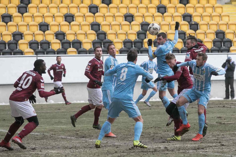 In der Dynamo-Defensive herrschte gegen den  CFC ein ums andere Mal Alarmstimmung.