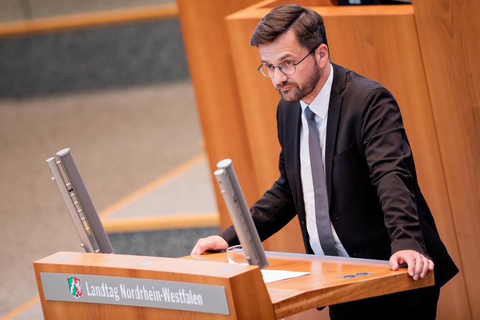 Thomas Kutschaty ist Fraktionsvorsitzender der SPD im NRW-Landtag.