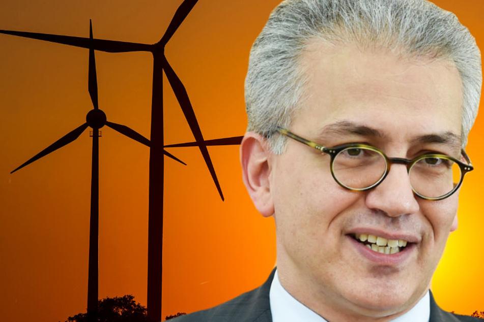 Tarek Al-Wazir möchte die Stromsteuer durch eine CO2-Steuer ersetzen.