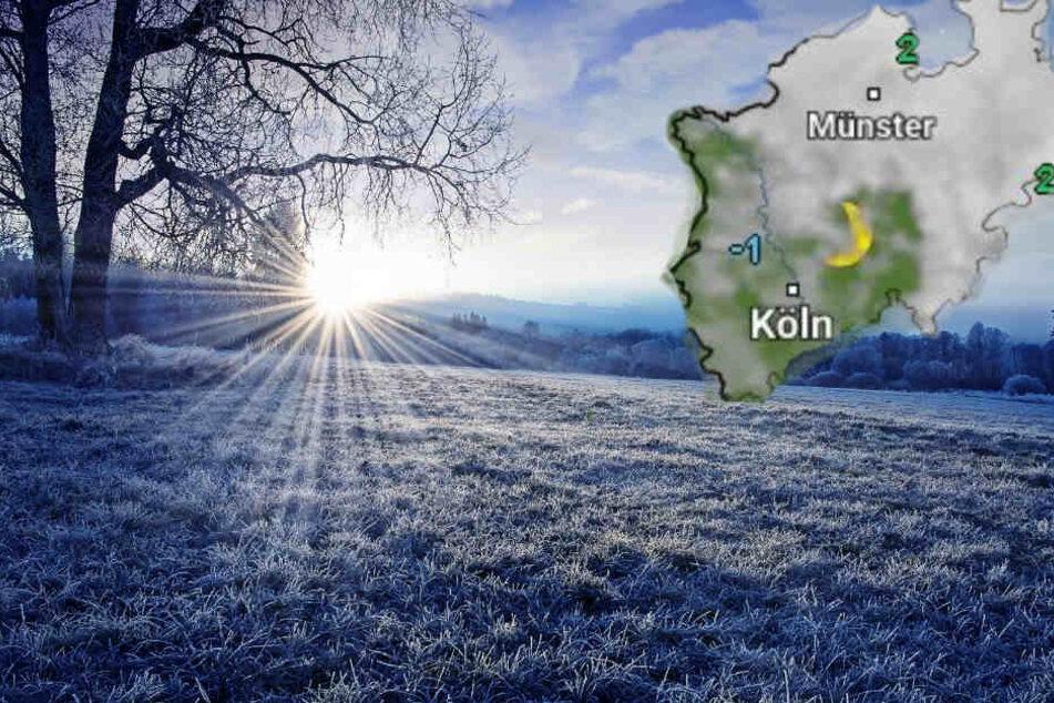 Vor allem in den Nächten fällt das Thermometer in frostige Regionen.