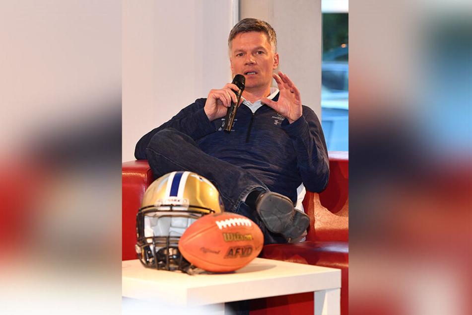 Coach Ulrich Däuber setzt großes Vertrauen in seine Monarchs.