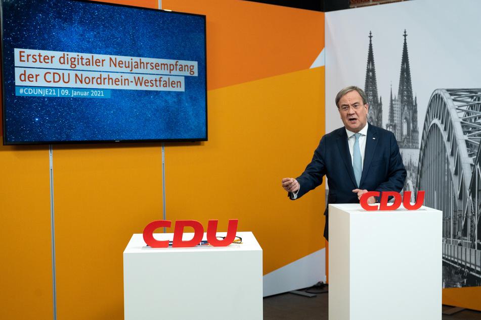 Nach CDU-Bundesparteitag: Laschet ruft Bewerber zu Zusammenhalt auf