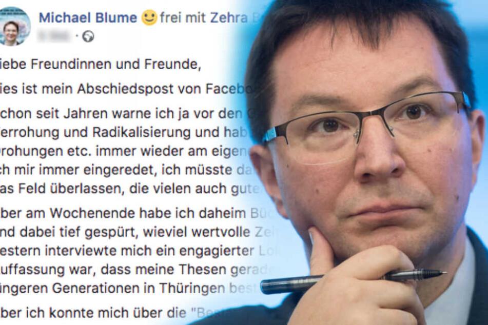 Darum verlässt der Beauftragte für Juden-Feindlichkeit Facebook und Twitter