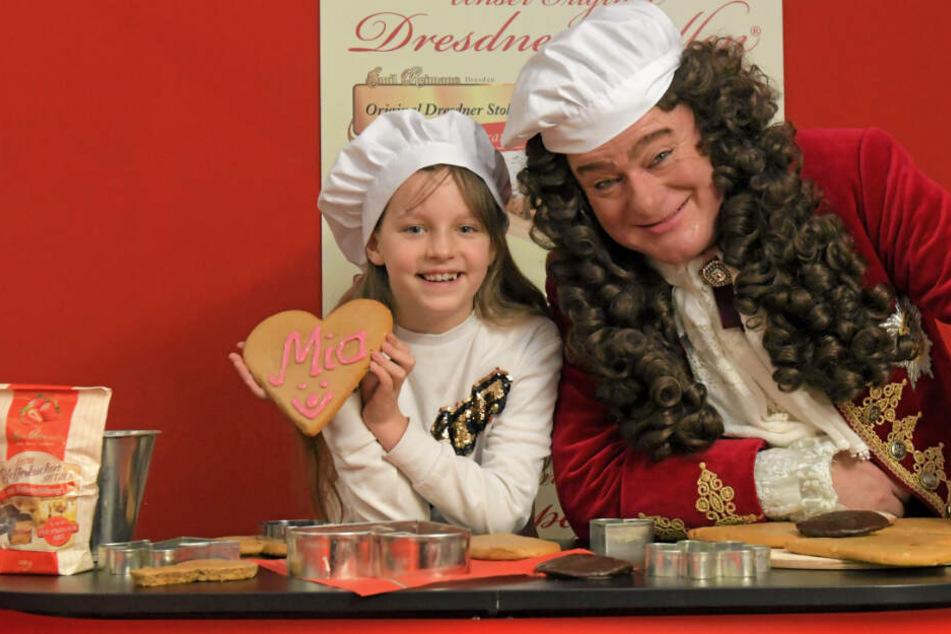 365 Pfefferkuchen geschenkt: Mia wird die neue Prinzessin