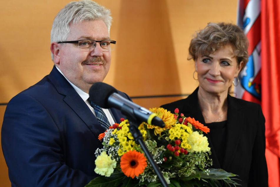 Birgit Keller wurde am Dienstag zur neuen Landtagspräsidentin gewählt.