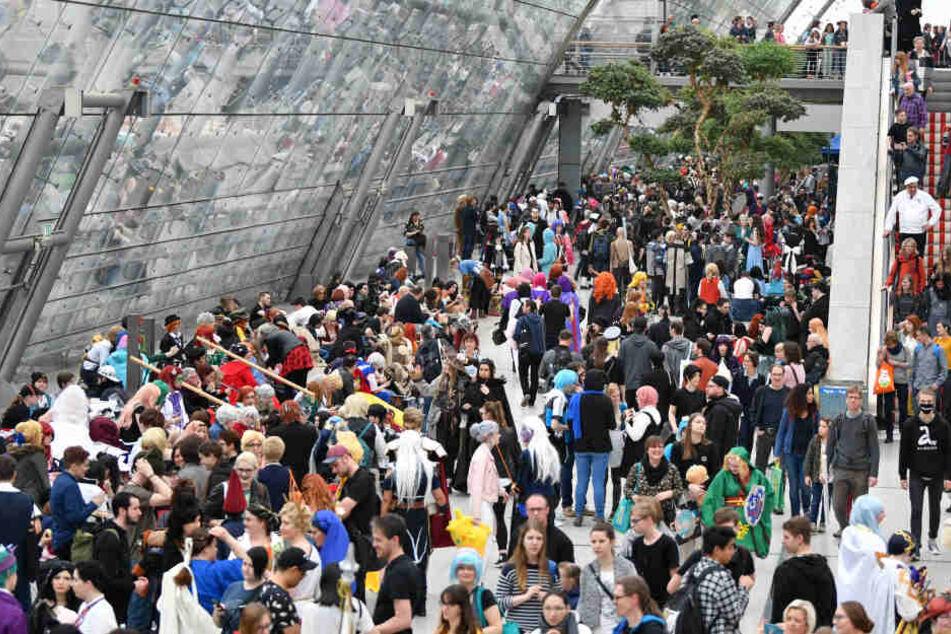 """286.000 Menschen besuchten in diesem Jahr die Leipziger Buchmesse und das Festival """"Leipzig liest""""."""