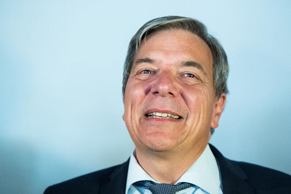 Gert-Uwe Mende (SPD) darf sich über den Wahlsieg freuen.