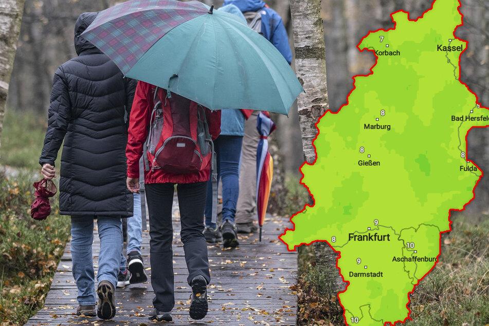 Das Wetter in Hessen präsentiert sich trist und grau, doch gibt es einen Lichtblick?