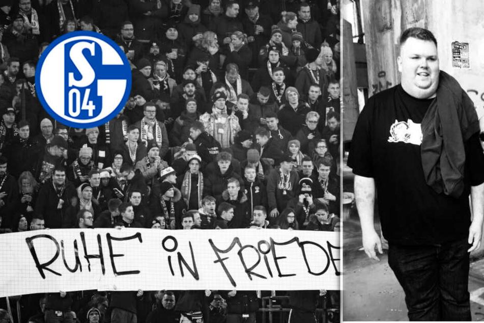 Nach Tod von Schalke-Ultra: Deutschlandweit große Anteilnahme!