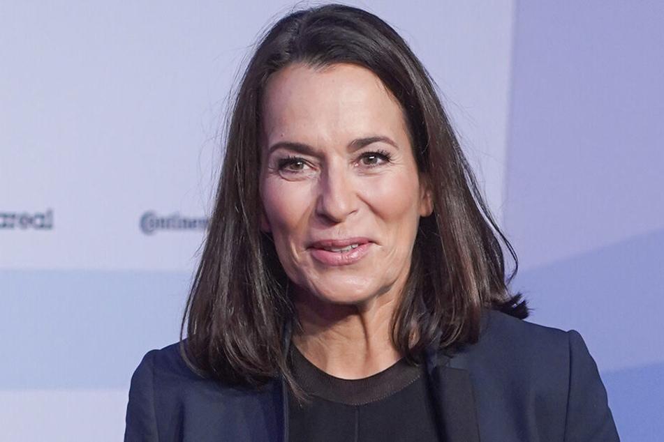 Die Moderatorin Anne Will Ende 2018 im ARD-Hauptstadtstudio.