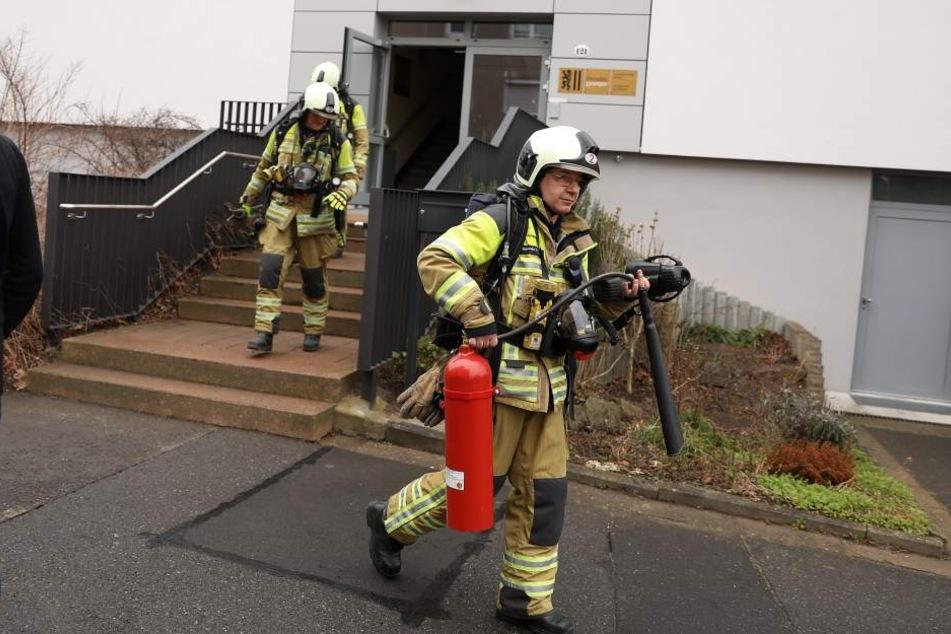 Die Feuerwehr musste anrücken.