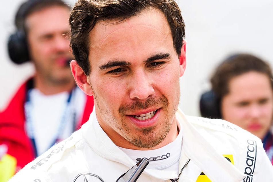 Im August war Robert Wickens bei einem IndyCar-Rennen schwer verunglückt.