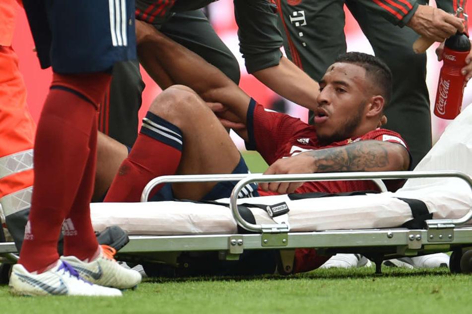 Weltmeister Corentin Tolisso wird dem FC Bayern München sehr lange verletzt fehlen.