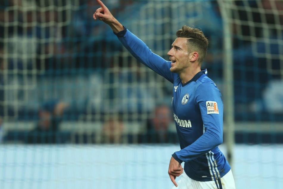 Schluss mit Königsblau: Leon Goretzka läuft ab der neuen Saison für die Bayern auf.