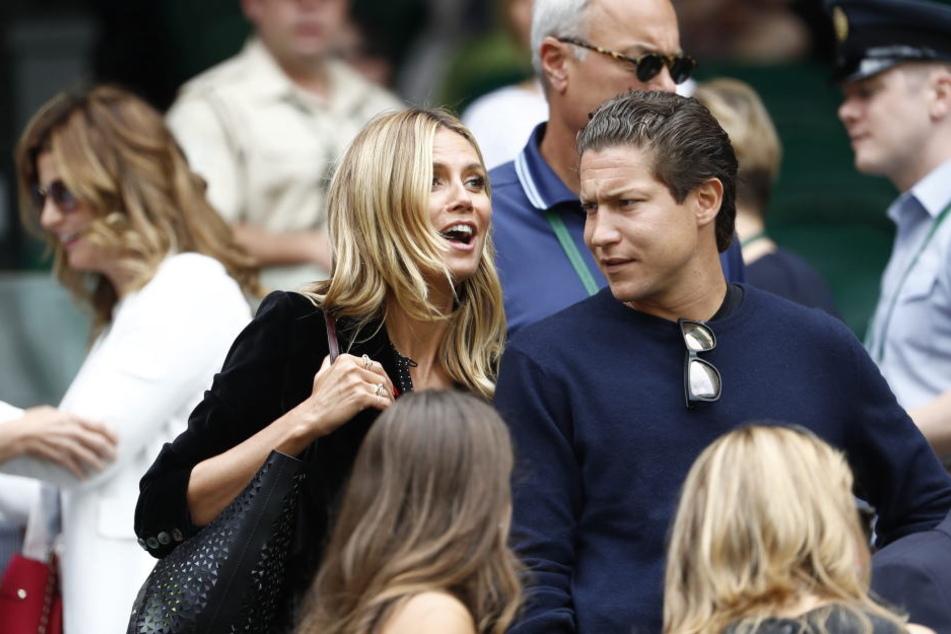 2016 besuchte Vito Schnabel Wimbledon noch mit Heidi Klum an seiner Seite.