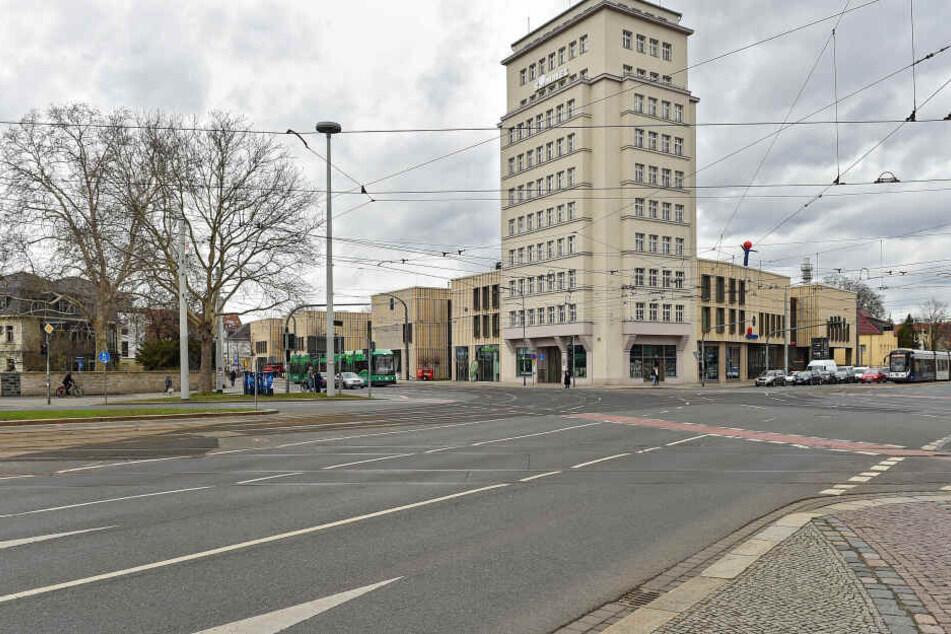 Im Simmel-Hochhaus am Albertplatz sind jetzt endlich alle Gewerbeflächen vermietet.