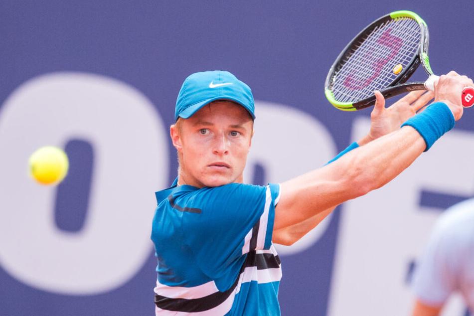 Rudolf Molleker erreichte erstmals das Hauptfeld der Australien-Open.