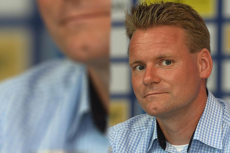 DEL2-Geschäftsführer René Rudorisch.