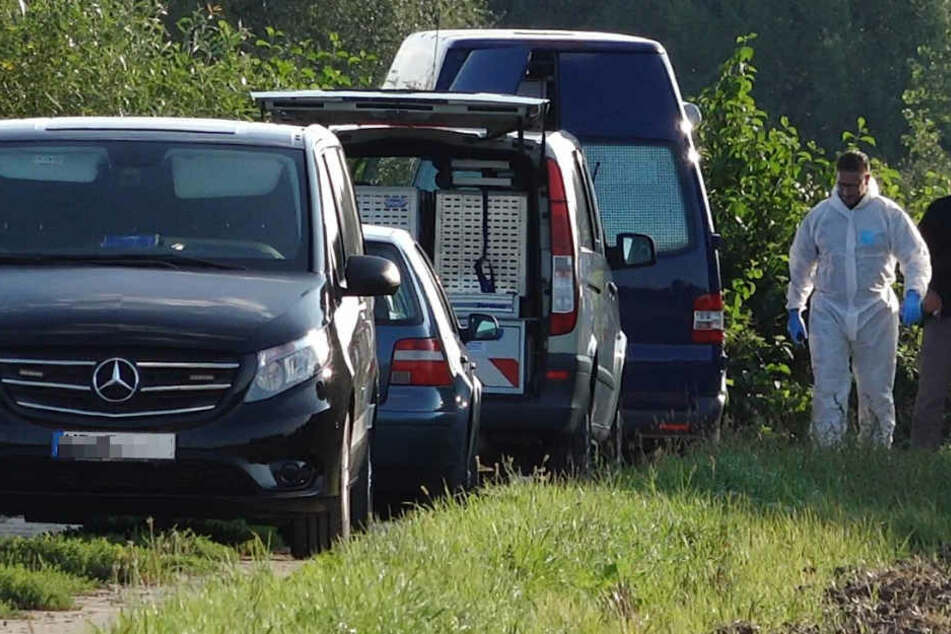 Am Freitag wurde in Südhessen bei der Autobahn eine Leiche gefunden.