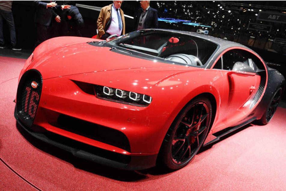 Nur 500 Exemplare wird es vom Bugatti Chiron weltweit geben.