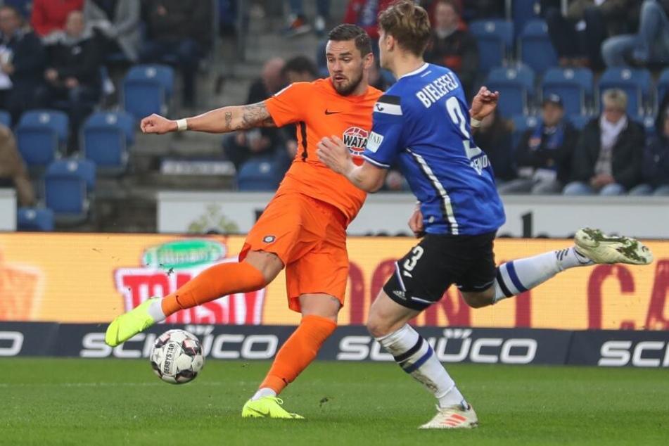 Die Arminen waren dem FC Erzgebirge Aue überlegen.