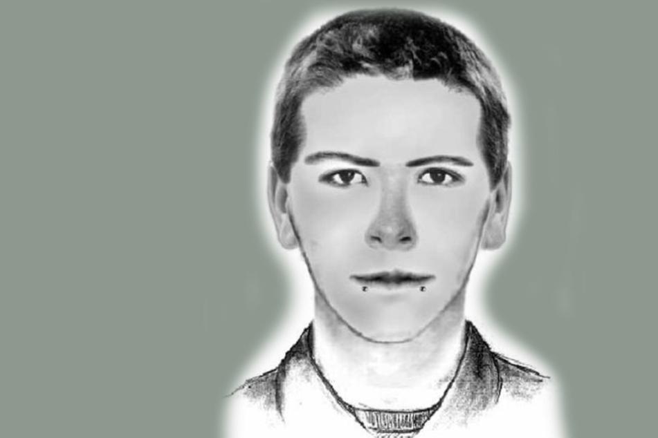 Mit diesem Phantombild sucht die Polizei nach dem Sex-Täter.