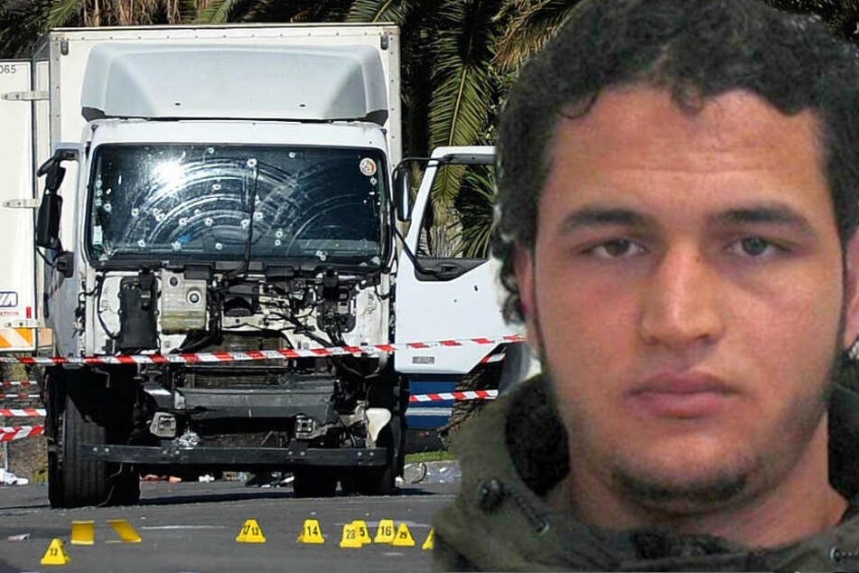 War der Amri-Kumpel am Anschlag von Nizza beteiligt? (Bildmontage)