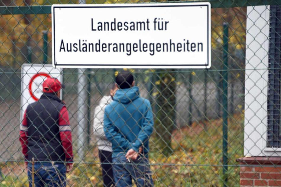 In Boostedt im Kreis Segeburg sind Flüchtlinge untergebracht.