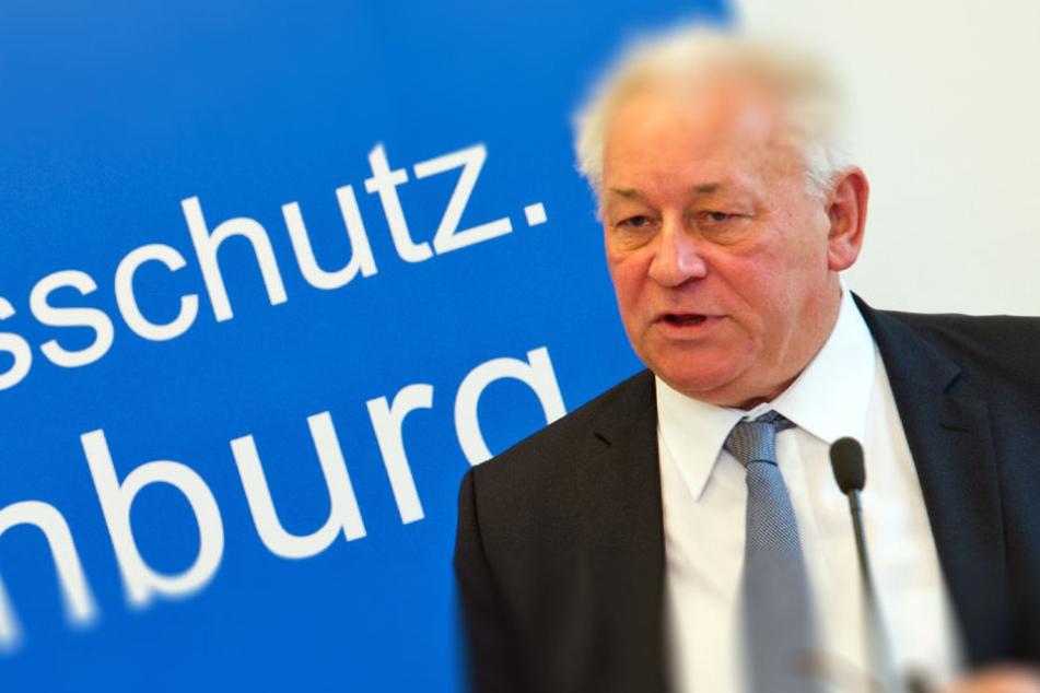 Die rechtsextreme Szene in Brandenburg bereitet dem Verfassunfsschutzchef Carlo Weber Sorgen.