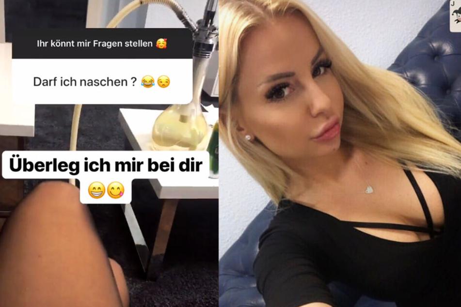 Die Montage zeigt zwei Screenshots aus dem Instagram-Profil von Sabi.