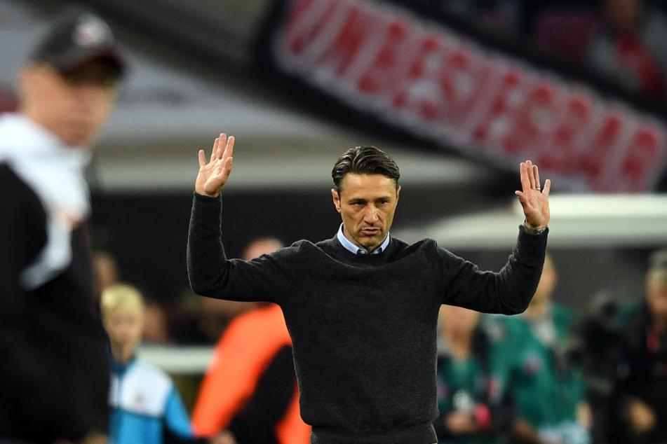 Druck zu gewinnen? Hat laut Trainer Kovac am Samstag Leipzig, nicht die Eintracht.
