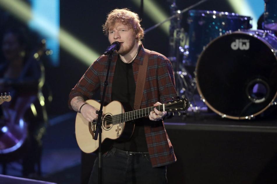 Ed Sheeran wollte in Düsseldorf auftreten.