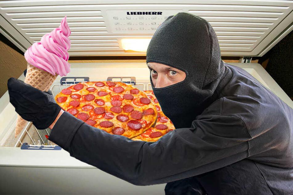 Eis und Pizza gehörten zu der Beute von Einbrechern in Blomberg.