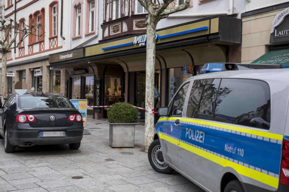 Der jüngste Fall war bereits der zweite Überfall binnen vier Jahren auf den Bad Homburger Juwelier.