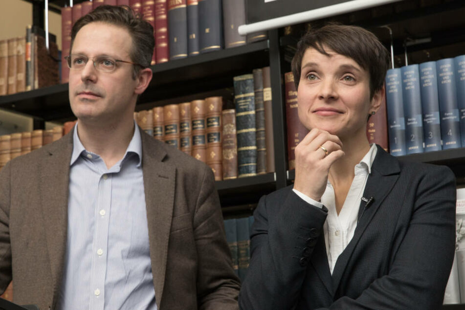 Frauke Petry mit ihrem Ehemann Marcus Pretzell.