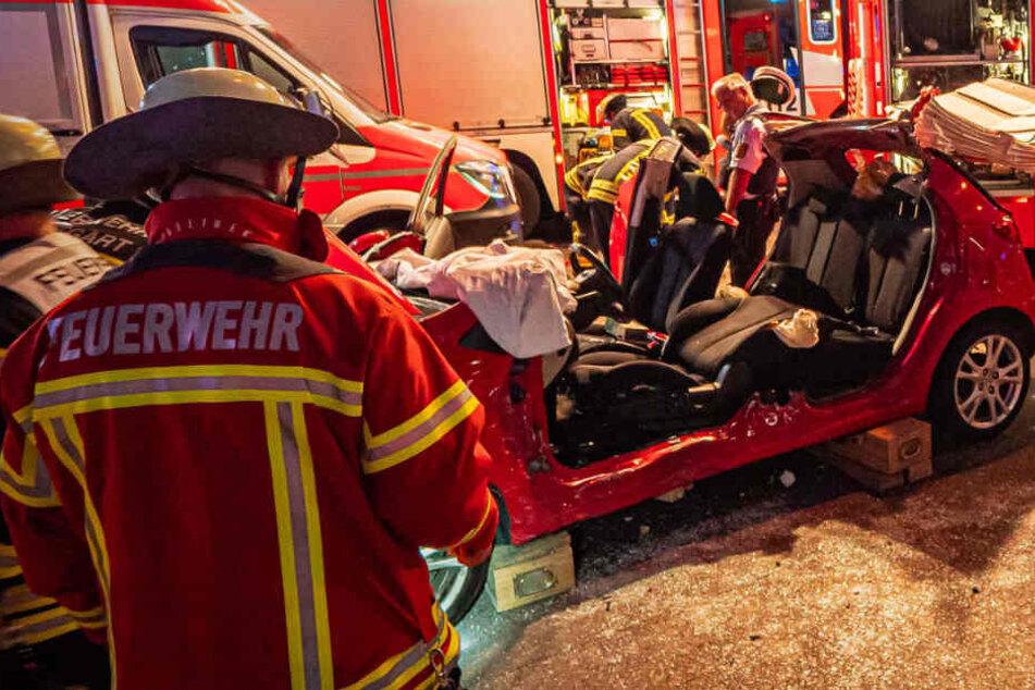 Schwerer Unfall in Stuttgart: Ein Mann hatte die rote Ampel missachtet
