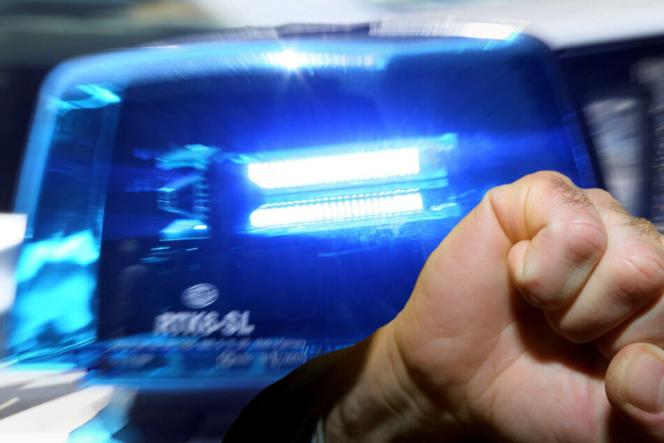 Massive Gewalt: Räuberpärchen verletzt Polizisten