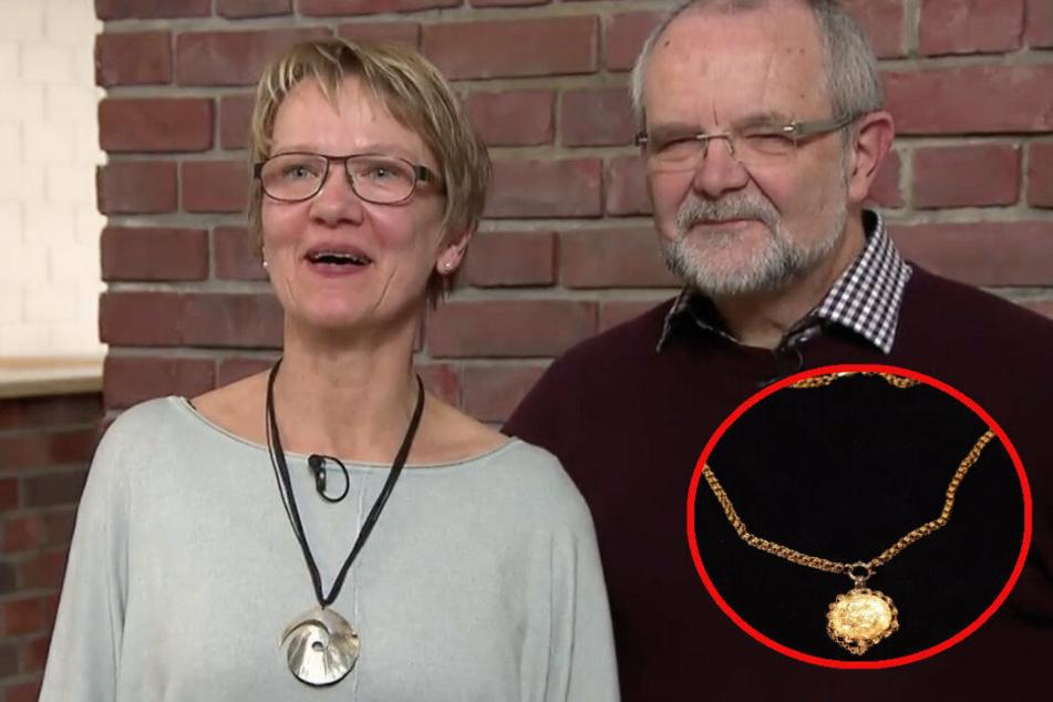 """Seltene Goldmünze bei """"Bares für Rares"""": Reicht ihr Wert für eine Reise zum Sohn?"""